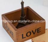 Décor en bois personnalisé peint à la main de décor de type à la maison de jardin pour le mur