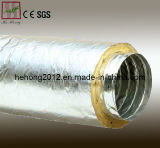 Aluminium flexibles Isoliergefäß für Ventilation