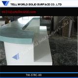 Стол приема СПЫ самомоднейшей конструкции белый твердый поверхностный