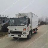 Camion del frigorifero del camion 4X2 5ton di Sinotruk HOWO