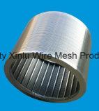 Keil-Draht-Bildschirm-Zylinder Usded in der flüssigen und festen Trennung