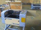 Machine de découpage de gravure de commande numérique par ordinateur de laser de CO2 d'Acctek 6040
