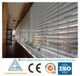 Profil en aluminium d'OEM d'ODM pour la porte d'obturateur de guichet d'obturateur