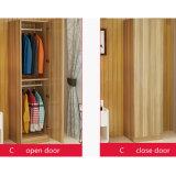 Einfache Tür-hölzerne Garderobe des Weiß-eins