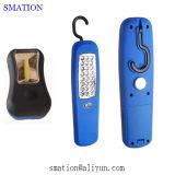 Indicatore luminoso portatile ricaricabile ritrattabile automobilistico del lavoro di difficoltà del garage 12V LED