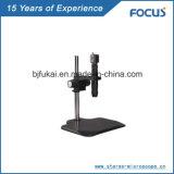 Microscópio estereofónico para o instrumento microscópico do carrinho ajustável