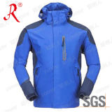 Chaqueta de esquí impermeable y respirable del invierno (QF-6032)