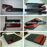 Red Rubber Sheet Conveyor Dual Seal Skirt Board