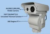 長距離熱および目に見える監視カメラ