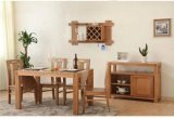 Festes Oak Wood Dining Set Made durch Highquality (M-X1156)