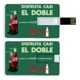 Hot USB Flash Memory Card con impresión a todo color