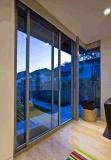 Vidro Tempered, porta deslizante de vidro de Frameless do vidro temperado/porta de vidro de deslizamento