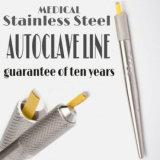 De echte Pen van de Tatoegering van Microblading van het Roestvrij staal Hand