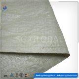 Green 50kg PP saco tecido para embalagem de resíduos