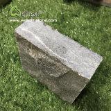 Камень черного кубика базальта вымощая с хорошими ценами