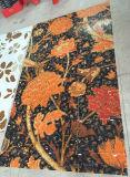 Mattonelle della parete del reticolo di mosaico di vetro di reticolo del fiore della Rosa (HMP643)