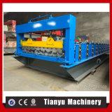 Platten-Herstellung-Maschinerie Roof glasiert die bedeckende Rolle, die Maschine bildet