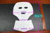 サーモンピンクのキャビアのエキスが付いているNon-Woven胎盤コラーゲンの表面および首マスク