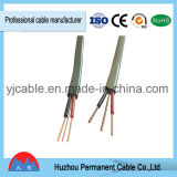 Kurbelgehäuse-Belüftung Isolier-BVVB+E flaches Energien-Kabel für Gebäude