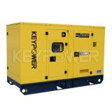 Keypowerの防音のおおいとの75kVAのディーゼル発電機セットの価格