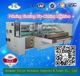 Machine ondulée de fabrication de cartons de carton d'alimentation automatique de 1 série