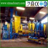 Aplicación de biomasa combustible, aserrín de madera Línea de producción de pellets