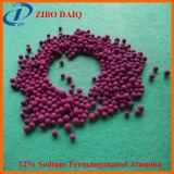 alumina ativada permanganato do sódio do adsorvente 12% de 3-5mm