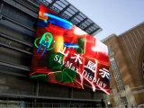 Pantalla usada edificio al aire libre del alto brillo LED de P10s Skymax