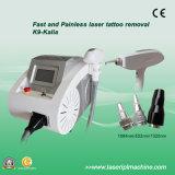 Máquina del retiro del lunar del laser del ND YAG del interruptor de K9 1064/532nm Q