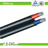 2.5mm2 /4.0mm2/6.0mm2 PV Gleichstrom-Sonnenenergie-Kabel für UL/TUV genehmigt