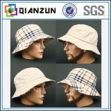 Concevoir le chapeau blanc de position de coton