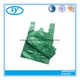 PE Plastic het Winkelen van de T-shirt van de Grondstof Zak