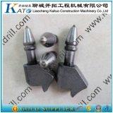 Bits da máquina do Trenching da terra que Trenching os dentes C31HD U40HD do cortador
