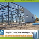 Diseño rápido del edificio de la fábrica que ensambla de la estructura de acero (JDCC-SW140)