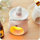 Linda aromaterapia Cerámica blanca quemador de aceite (CB-12)