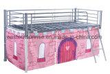 Base del hierro de acero del metal de los muebles del dormitorio sola para el trabajador del soldado del estudiante de los adultos de los niños