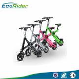Foldable 350W 36V 전기 자전거 전기 자전거를 접히는 10 인치