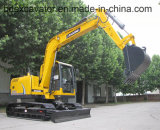 Petites excavatrices de chenille de Shandong avec l'encavateur pour le bois/canne à sucre contagieux