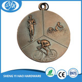 Medaglia del metallo di sport del rame 3D dell'oggetto d'antiquariato di prezzi di fabbrica