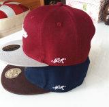 Chapéu do engranzamento do boné de beisebol do tampão do esporte do bordado dos Sequins
