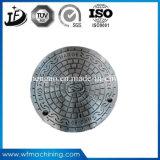 En124 En Gjs 500 7/En Gjs 450/Wrought 철 두 배 경첩을 달았거나 밀봉된 모래 주물 맨홀 뚜껑 (B125/C250/D400)