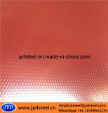 Bobina de aço PPGI de superfície embutida
