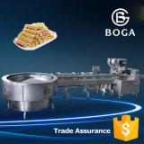 Envoltório automático do fluxo da máquina de embalagem do fluxo do alimento da tomada de fábrica