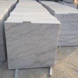 Luz Polished da fonte - o cinza veia as telhas brancas da parede das telhas do mármore