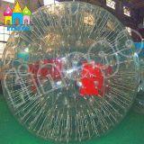 Finego中国はPVC草膨脹可能な水ボディサッカーのZorbの球を遊ばす