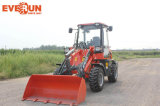 Qingdao Everun 1 Ton Small Wheel Loader con Mixer Bucket