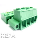 Carte Plugable Terminal Block avec Side Lock Anti-Vibration
