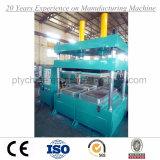 La machine de vulcanisation de presse de tuile en caoutchouc de quatre cavités avec GV BV a examiné