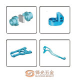 CNC Machinery Parts en Aluminum Part met Anodization F-028