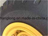 車輪のローダー5tonの石のバケット式積込機